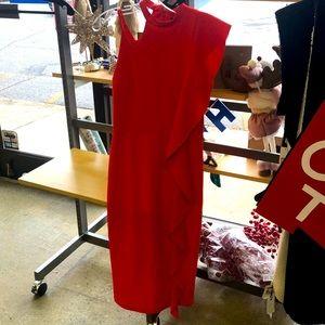Top shop one cold shoulder dress